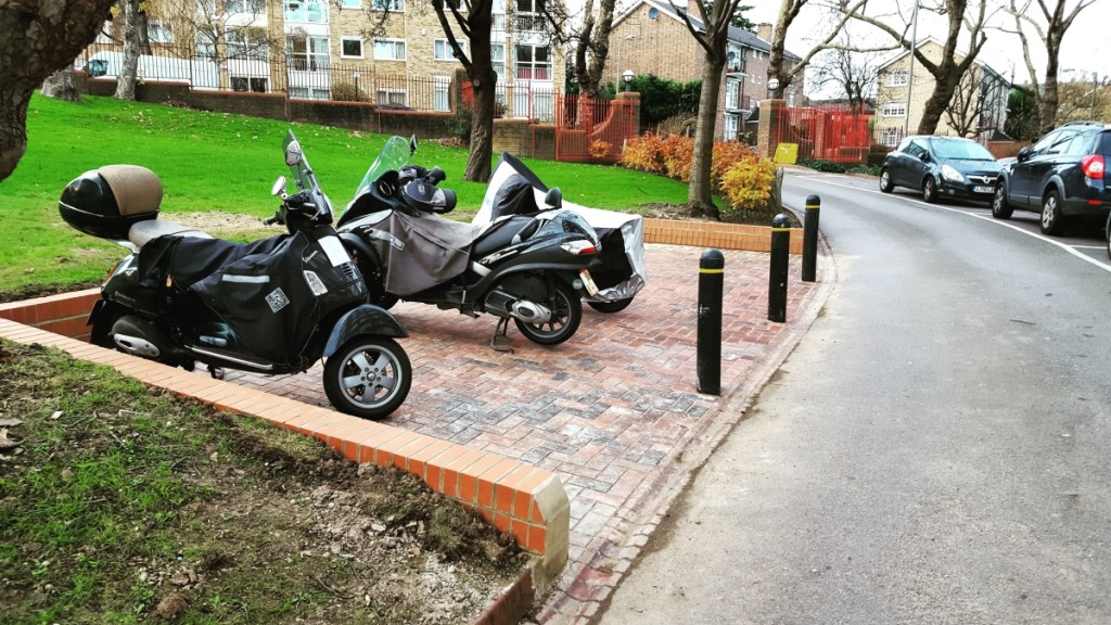 New Motor Cycle Parking Area